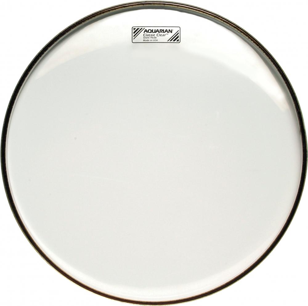 aquarian classic clear snare side drum heads drumshack. Black Bedroom Furniture Sets. Home Design Ideas