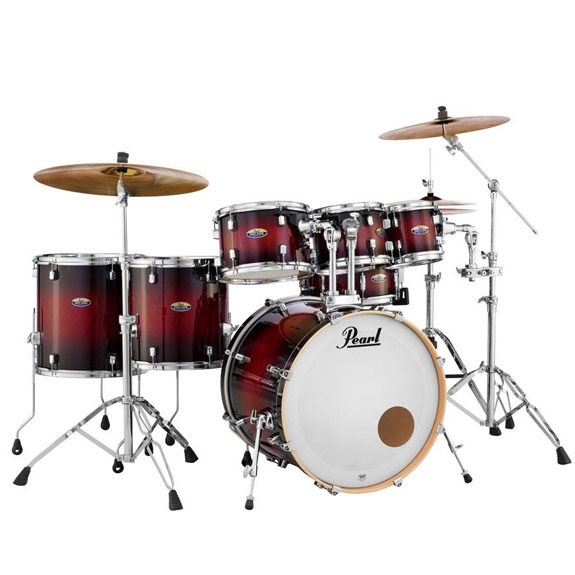 Pearl Decade Maple 7 Piece Shell Pack With hardware 22