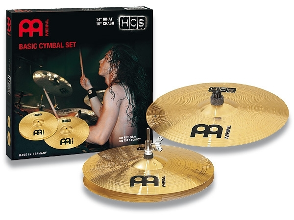 Meinl HCS Basic 14/16 Cymbal Set HCS1416