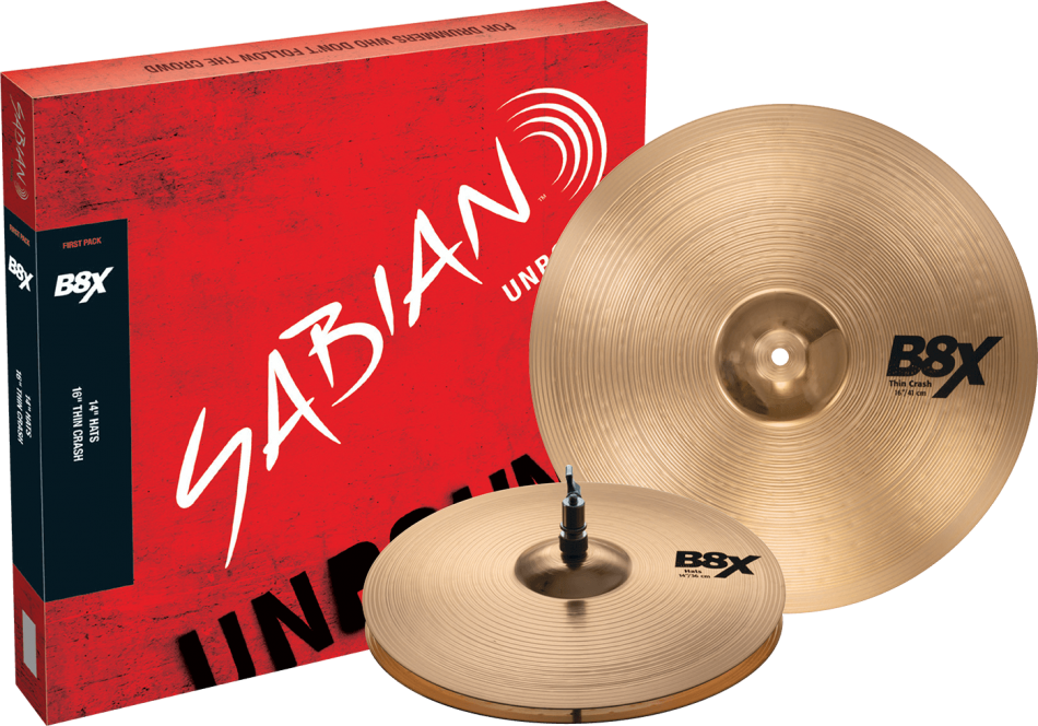 "Sabian 14"" 'First Pack' Box Set"