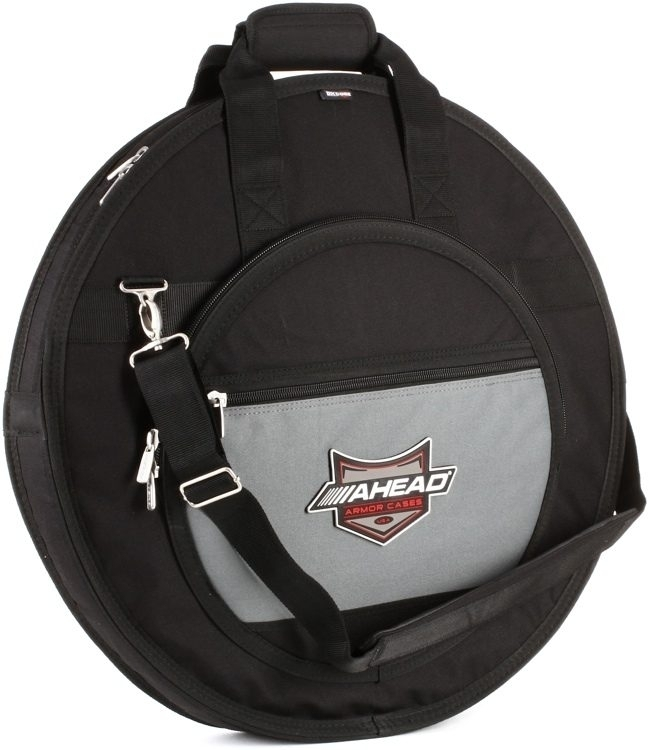 Ahead Armor AA6024 Deluxe Cymbal Case with Shoulder Strap