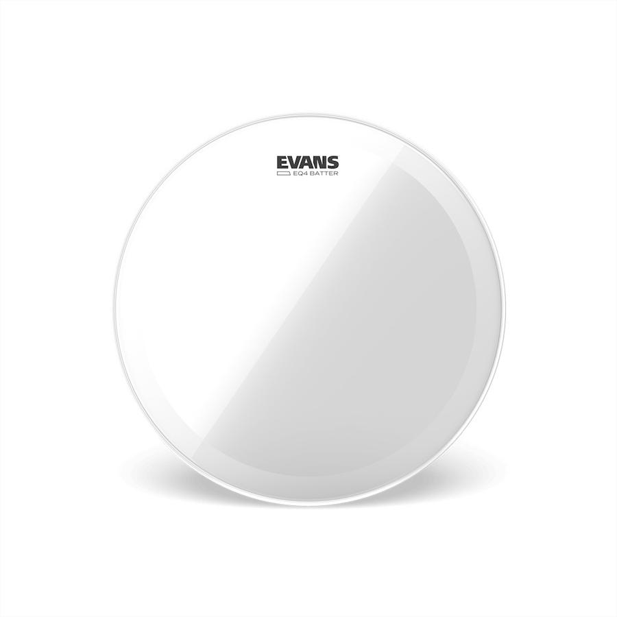Evans EQ4 Clear Bass Drum Heads