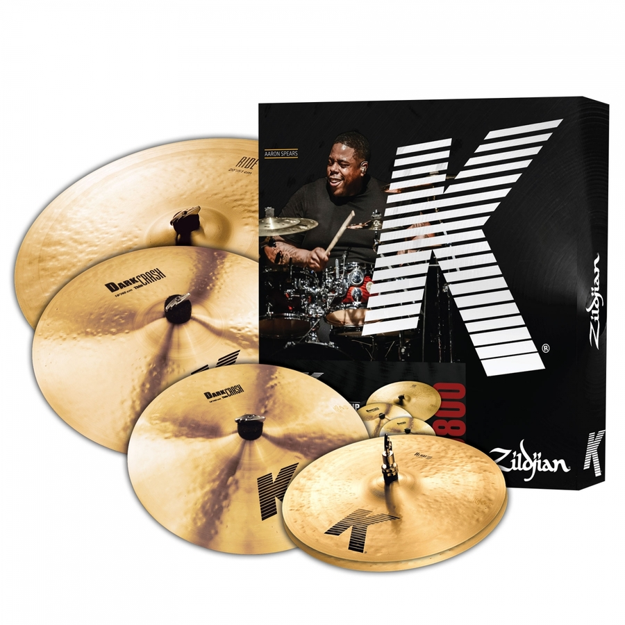 Zildjian K0800 K Promo Box Set Plus 18in K Dark Thin Crash