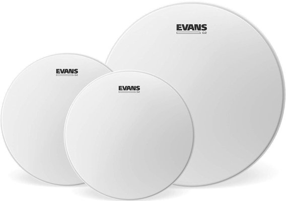Evans G2 Coated Tom Pack - American Fusion