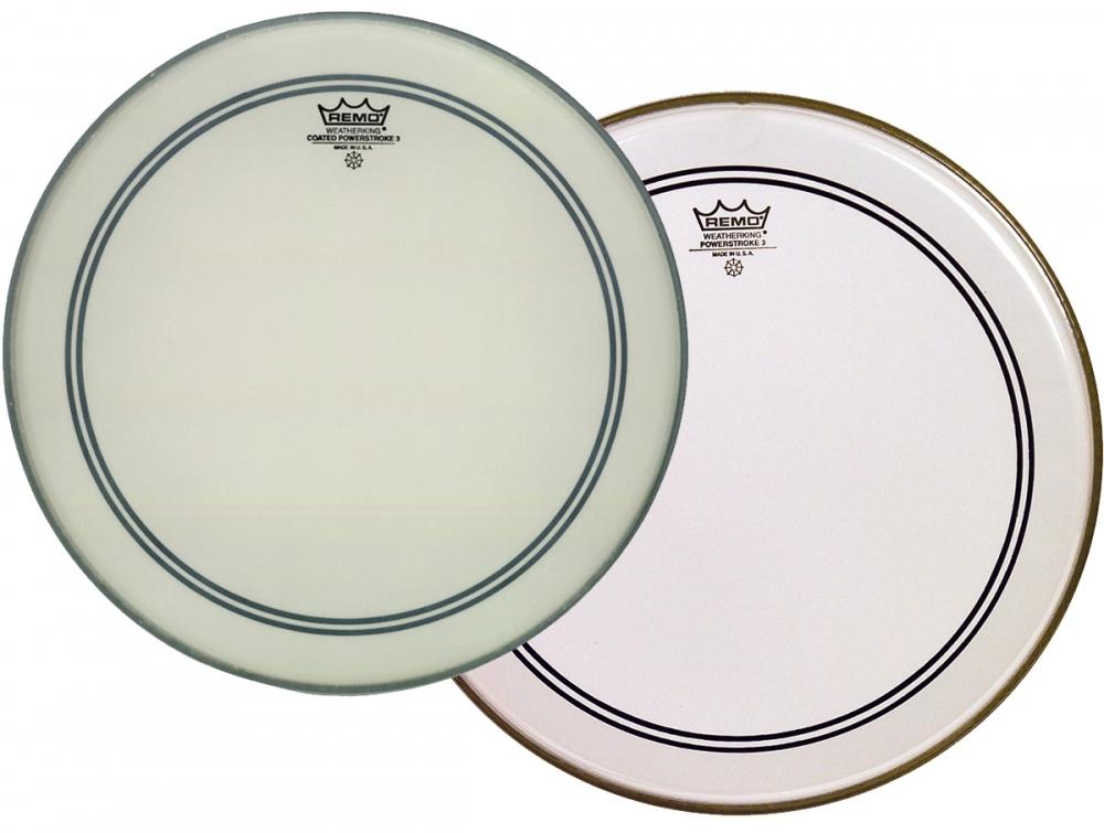 Remo Powerstroke 3 Bass Drum Heads