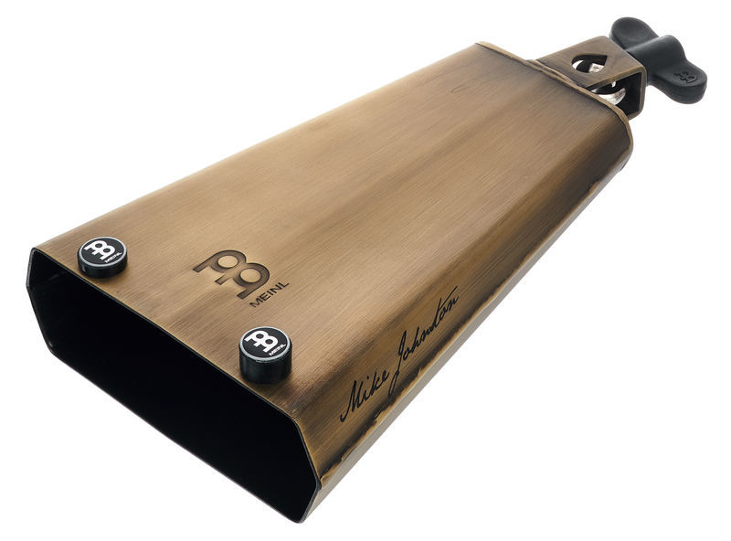 """Meinl Mike Johnston Groove Bell, 7 3/4"""" Cowbell, Special Steel Alloy"""