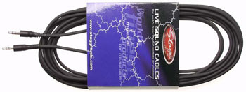Stagg Stereo Mini Jack to Mini Jack Cable - 3m