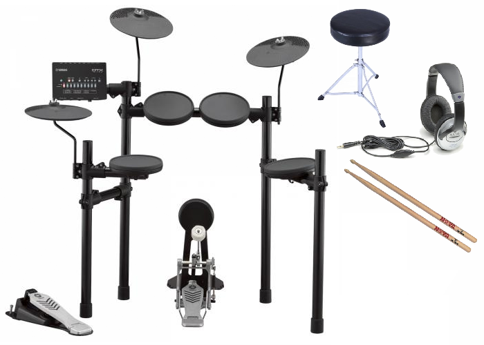 Yamaha DTX432 Electronic Drum Kit Bundle