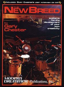 New Breed Drum Book - Gary Chester