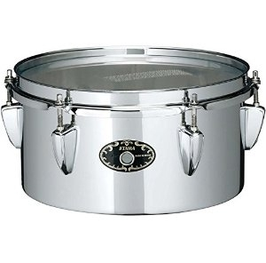 "Tama 10"" Steel Mini Tymp Snare Drum STS105M With MC69 Holder"