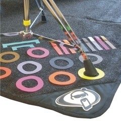 Protection Racket Drum Mat Marker Pack