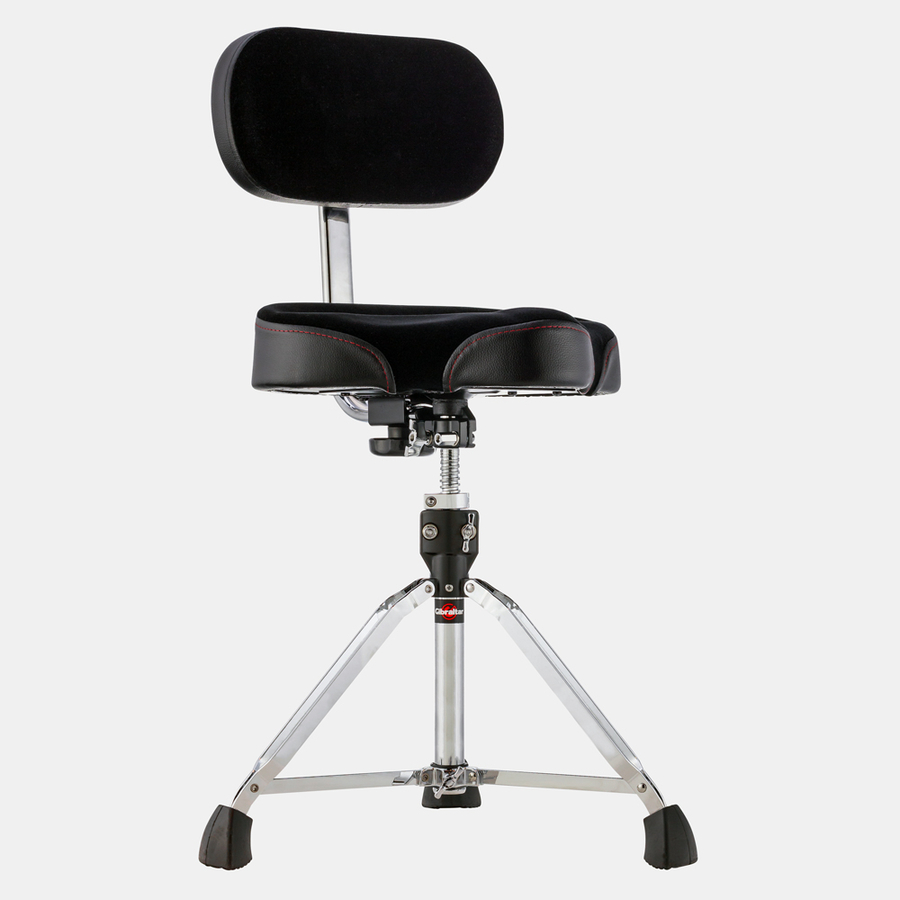 Gibraltar 9608MB Moto Drum Throne with Back Rest