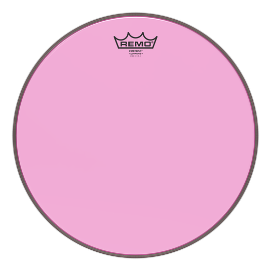 Remo Emperor Colortone Pink Drum Heads