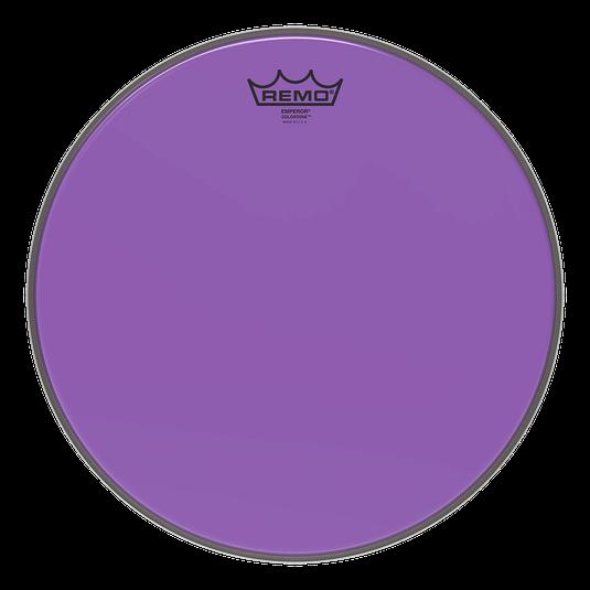 Remo Emperor Colortone Purple Drum Heads