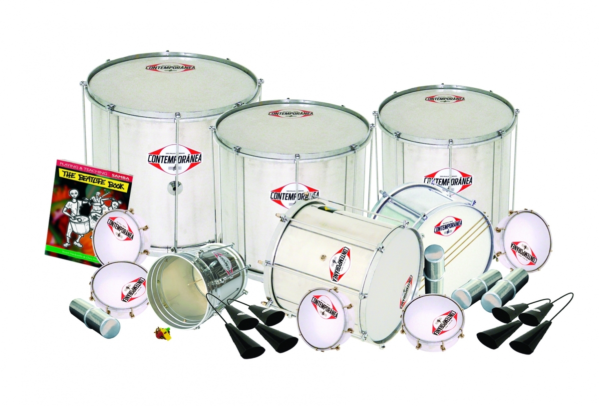 Contemporanea 20 Player Professional Samba Pack 4