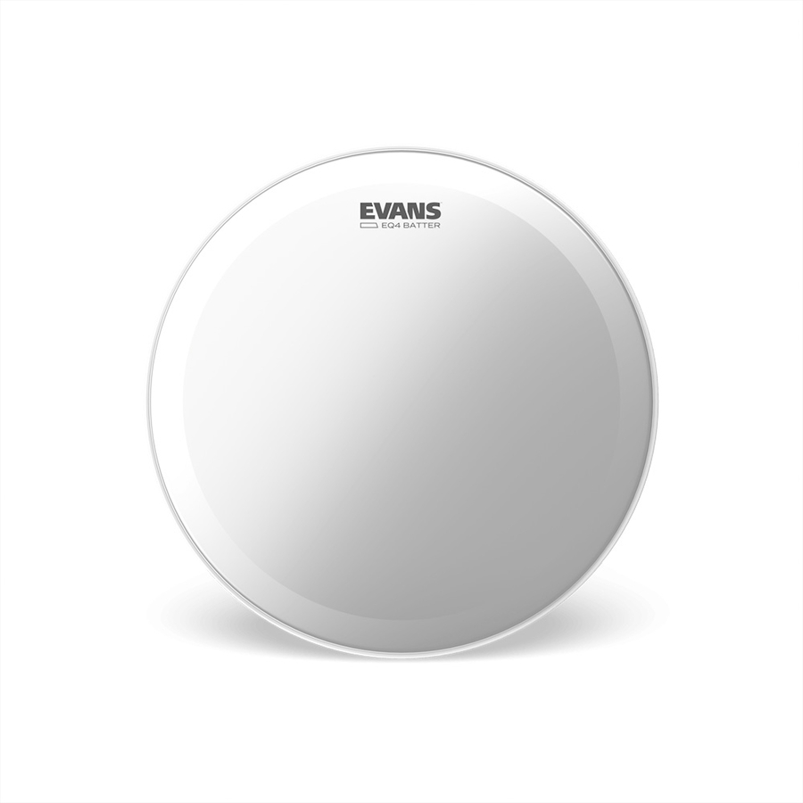 Evans EQ4 Frosted Bass Drum Heads