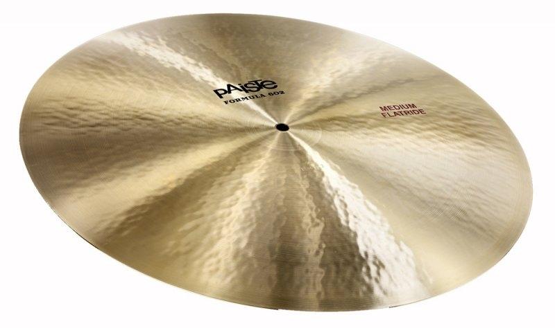"""Paiste Formula 602 20"""" Flat Ride Cymbal"""