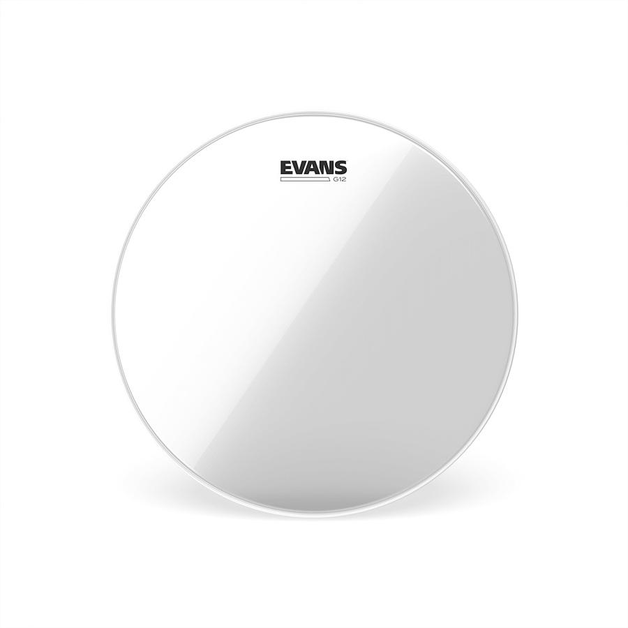 Evans G12 Clear Drum Heads