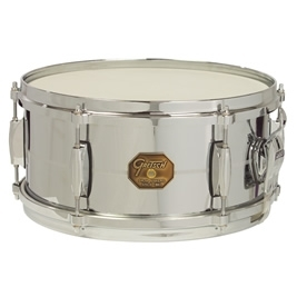 "Gretsch G4168 13"" x 6"" Chrome Over Brass G-4000 Series Snare Drum"