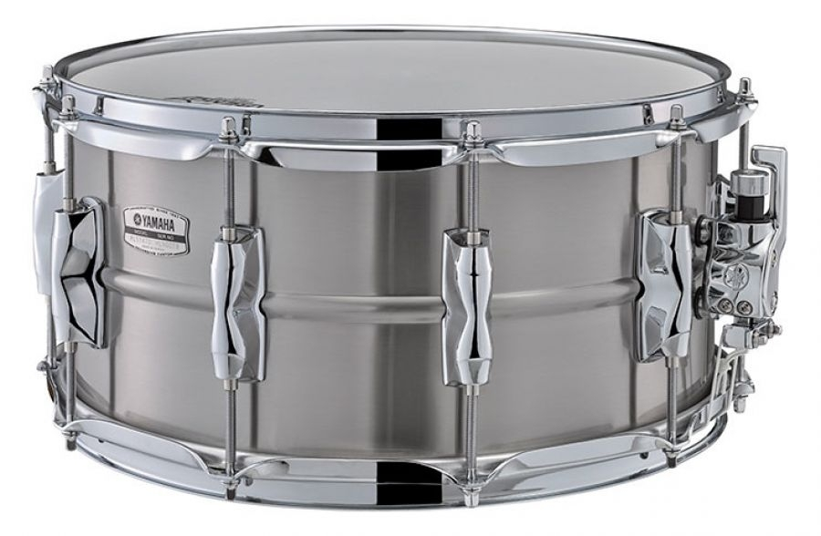 "Yamaha RLS1470 Stainless Steel 14"" x 7"" Snare Drums Recording custom"