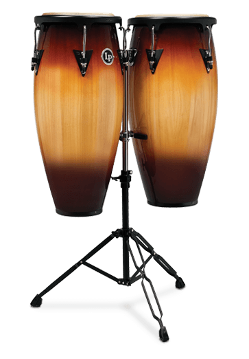 "Latin Percussion Aspire Wood Congas 10"" & 11"" Set (LPA646B-VSB)"