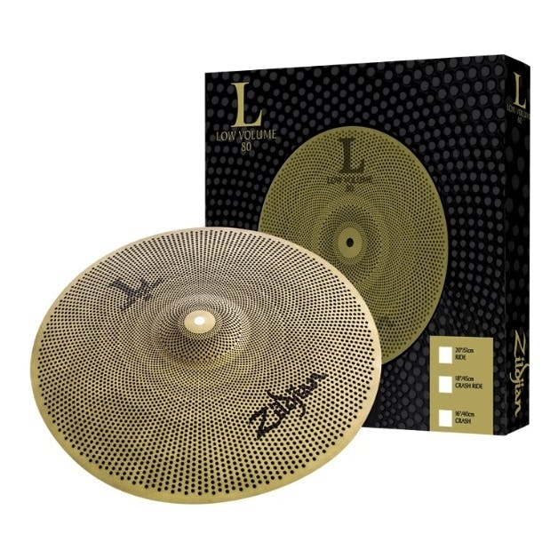 "Zildjian 20"" Low Volume L80 Ride Cymbal"