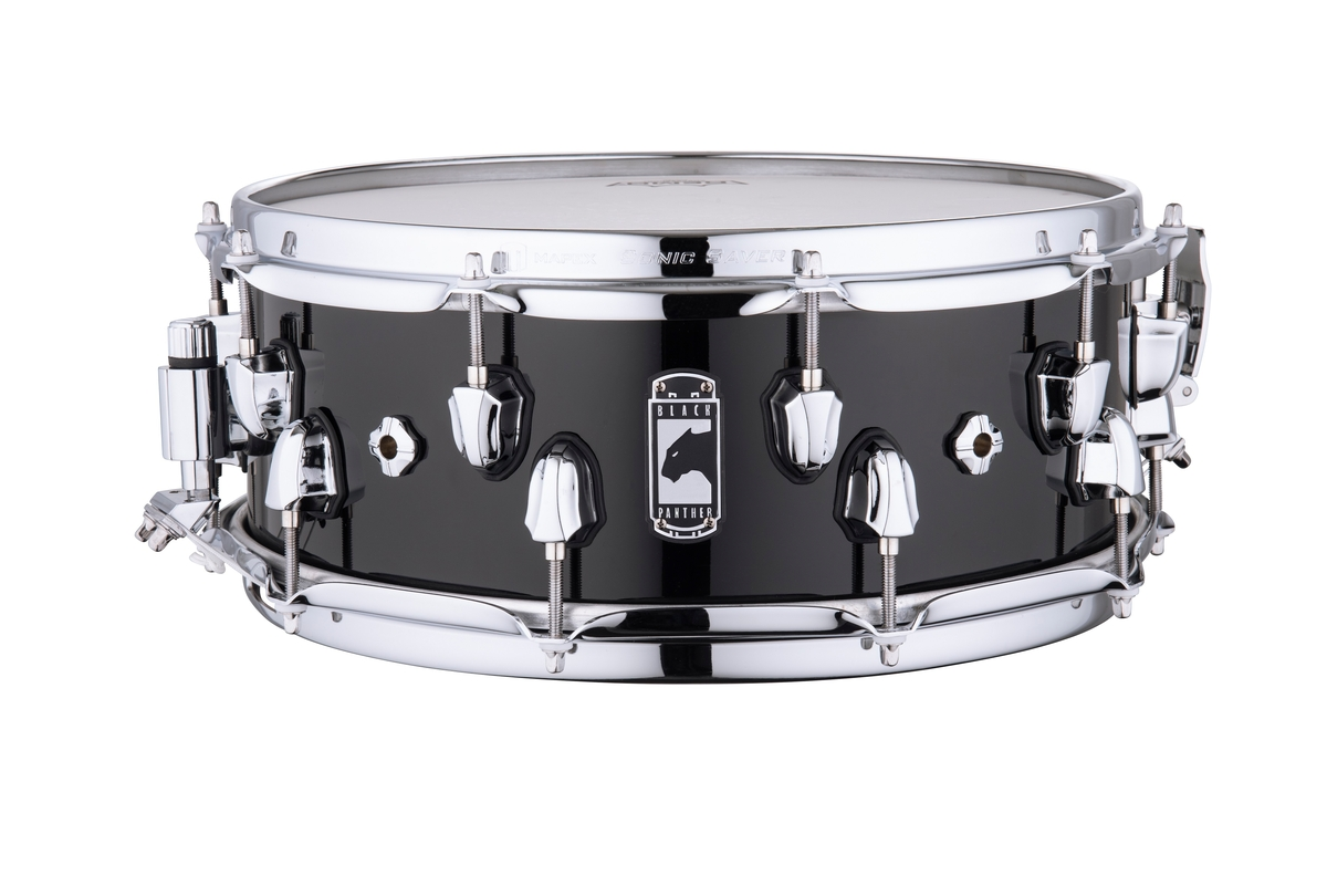 """Mapex Black Panther NUCLEUS Maple/Walnut 14""""x5.5"""" Snare Drum BPNMW4550CPB"""