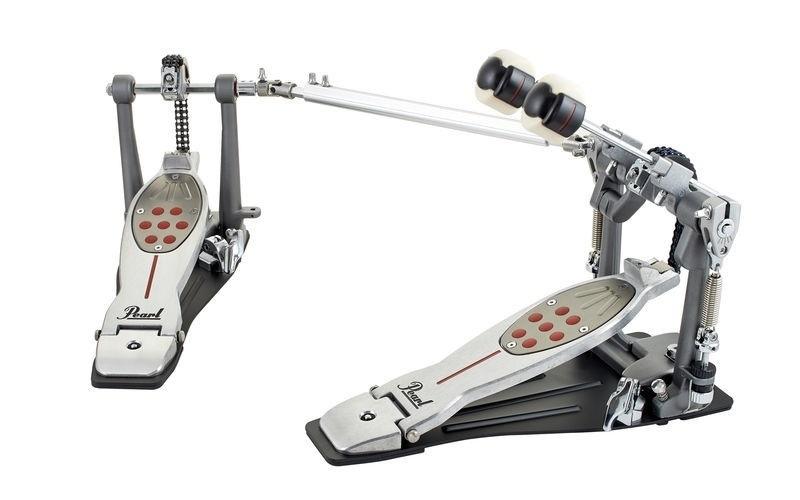Pearl P-2052C Eliminator Redline Double Pedal, Chain Drive