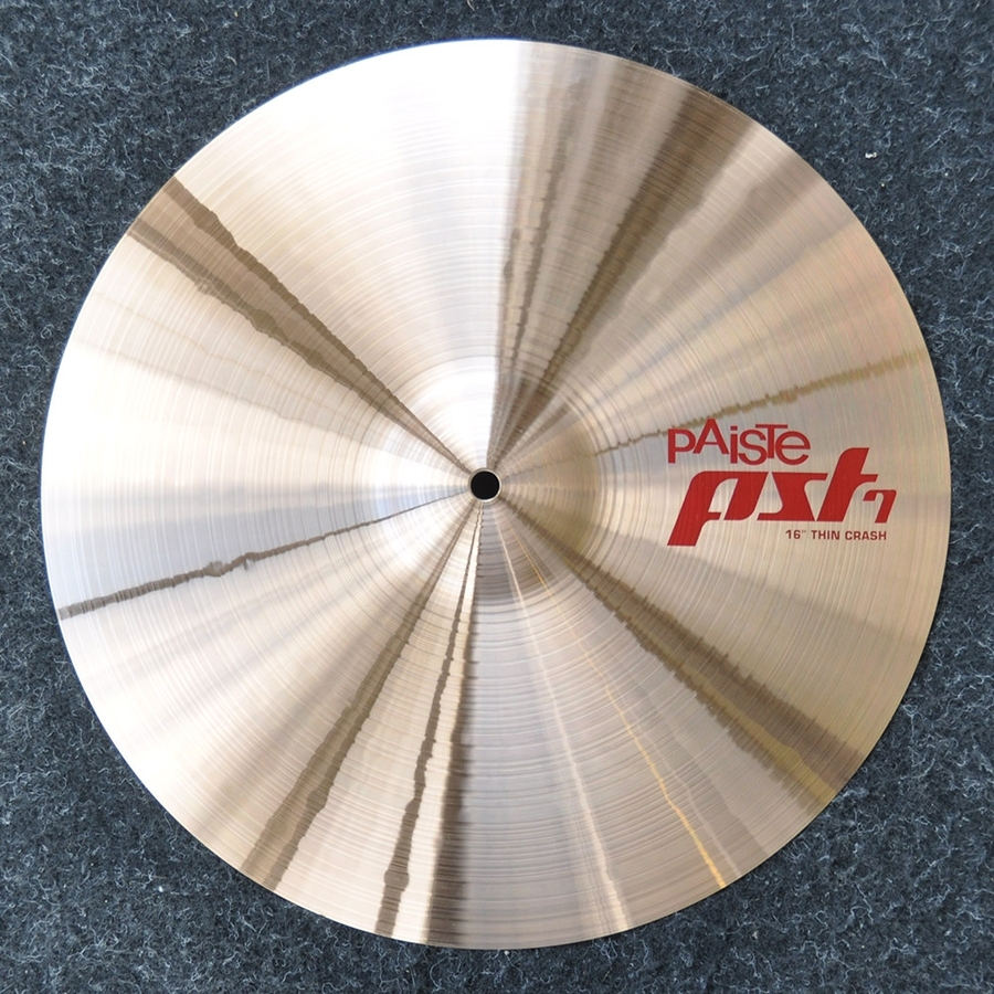 "Paiste 16"" PST7 Thin Crash Cymbal *Ex Demo*"