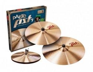 Paiste PST7 Medium Universal Cymbal Set PST7BS3MED
