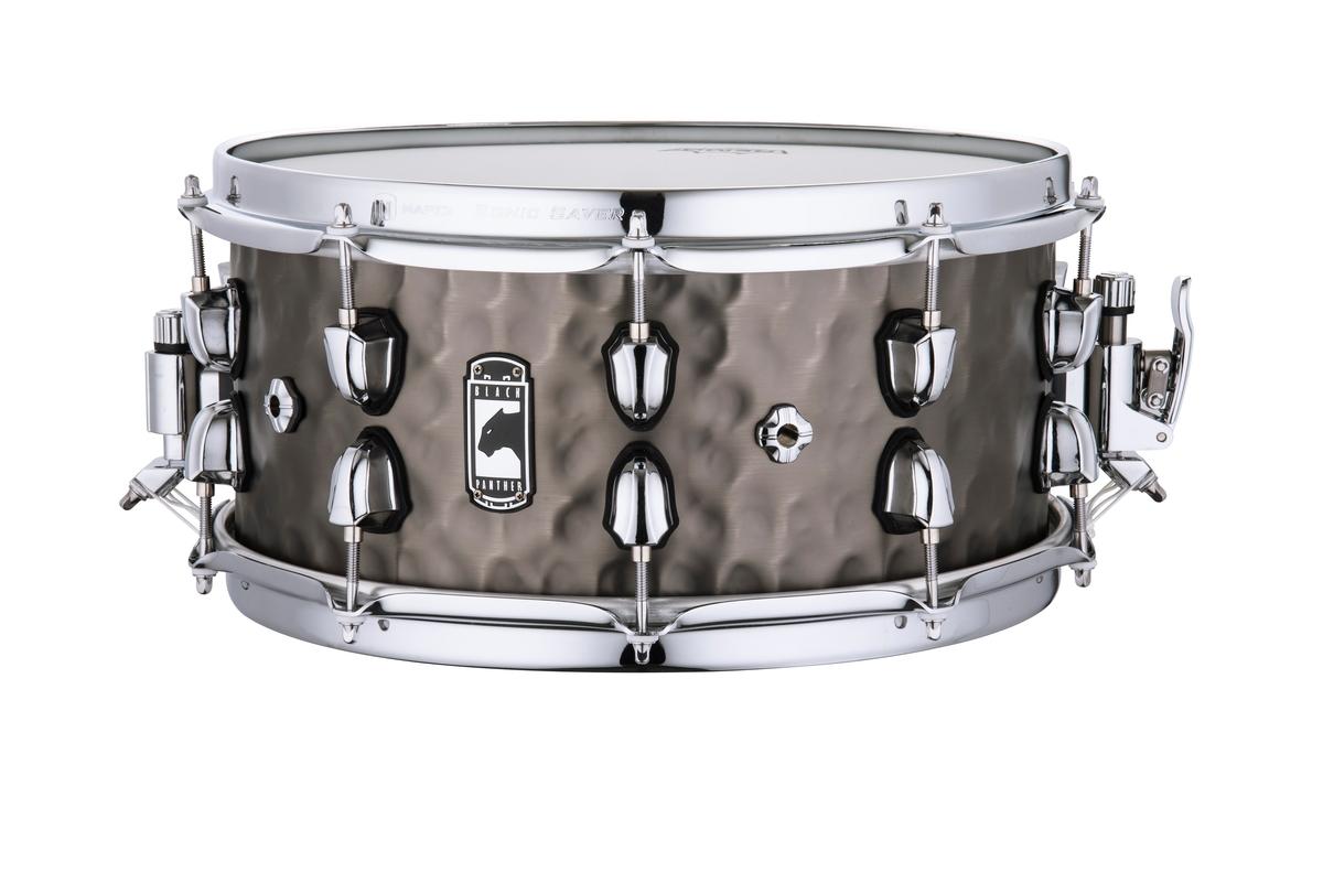 """Mapex Black Panther Persuader 14""""x7"""" Hammered Brass Snare drum BPNBR465HCN"""