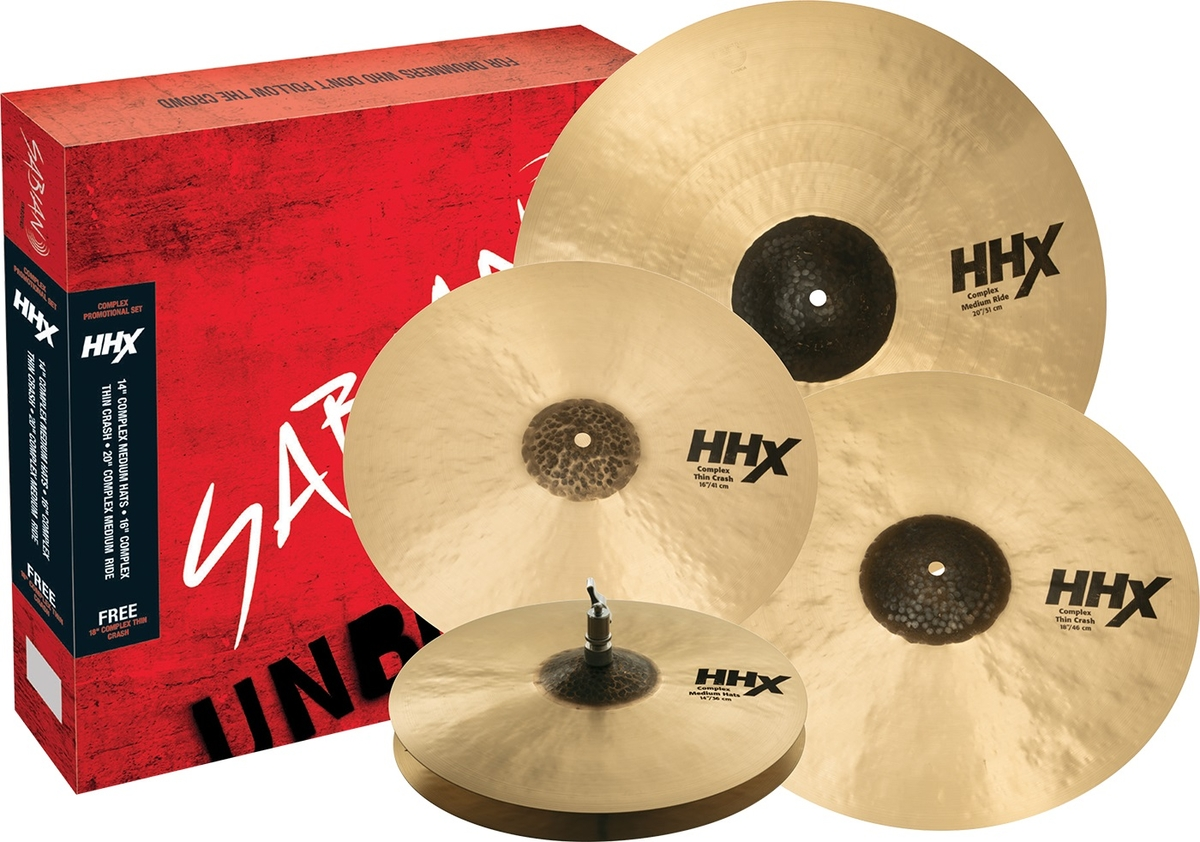 Sabian HHX Complex Promotional Box Set
