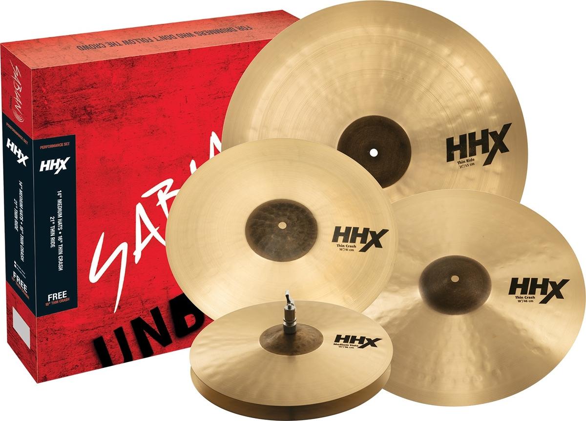 Sabian HHX Performance Cymbal Set