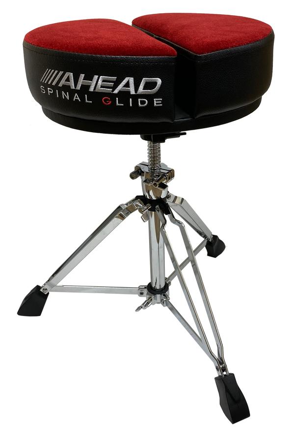 Ahead Spinal Glide Drum Throne - Round Top w/ 3 legs base