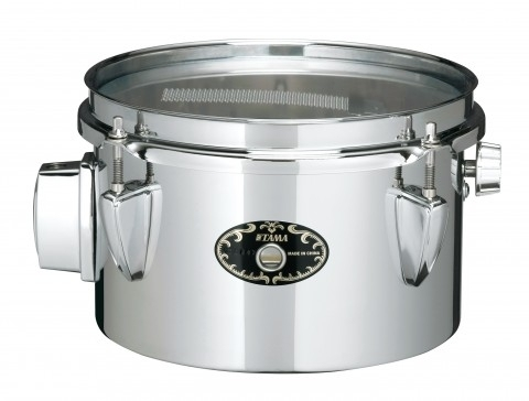 """Tama 8""""Steel Mini Tymp Snare Drum STS85M With MC69 Holder"""