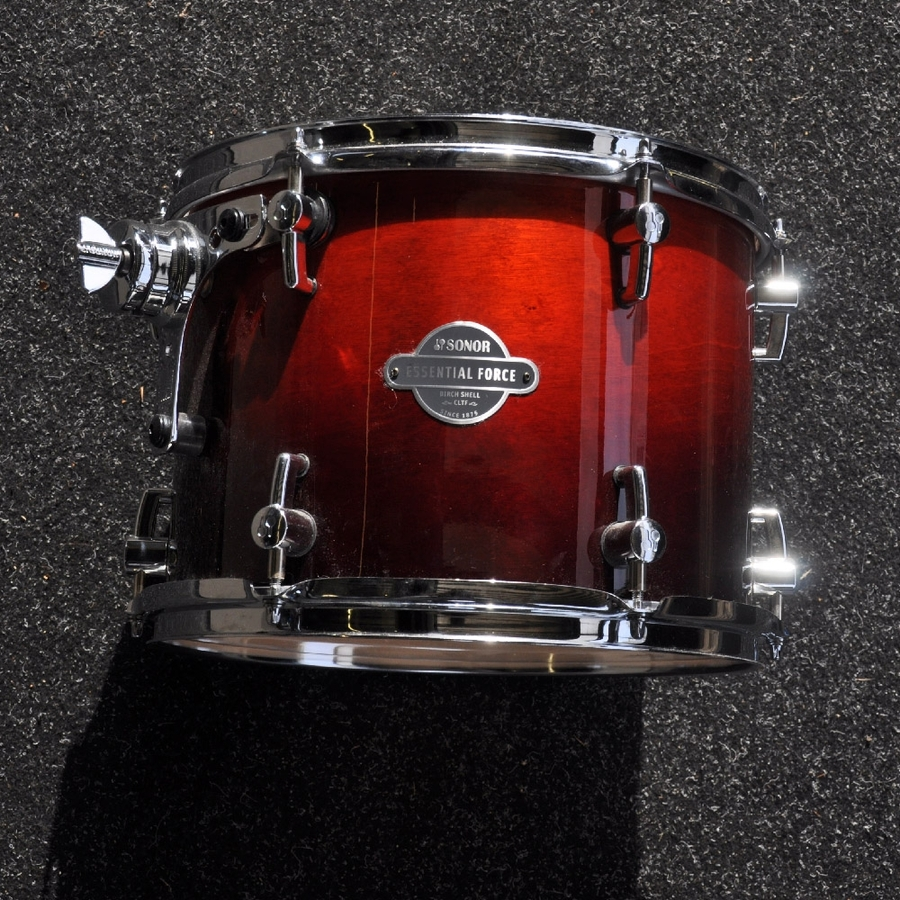 """Sonor 12"""" x 9"""" Essential Force Tom in Sunburst finish *2nd Hand*"""