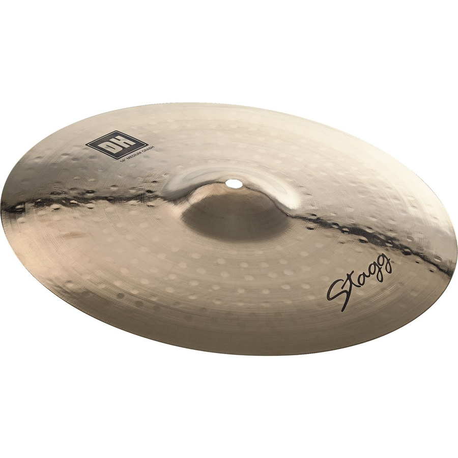Stagg Dual Hammered DH Medium Crash Cymbals