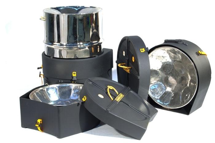 Hardcase Steel Pan Cases