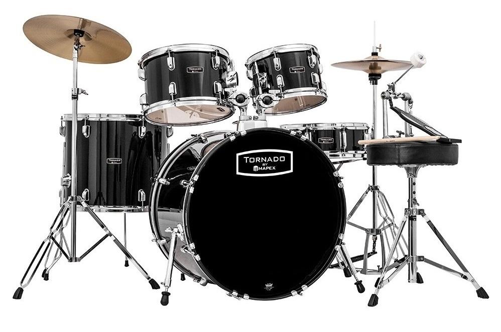 """Mapex Tornado III Fusion 20"""" Drum Kit"""