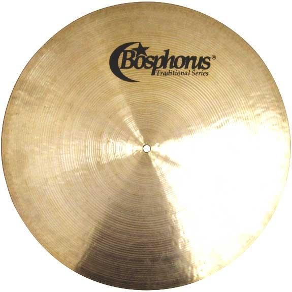 Bosphorus Traditional Flat Ride Cymbals