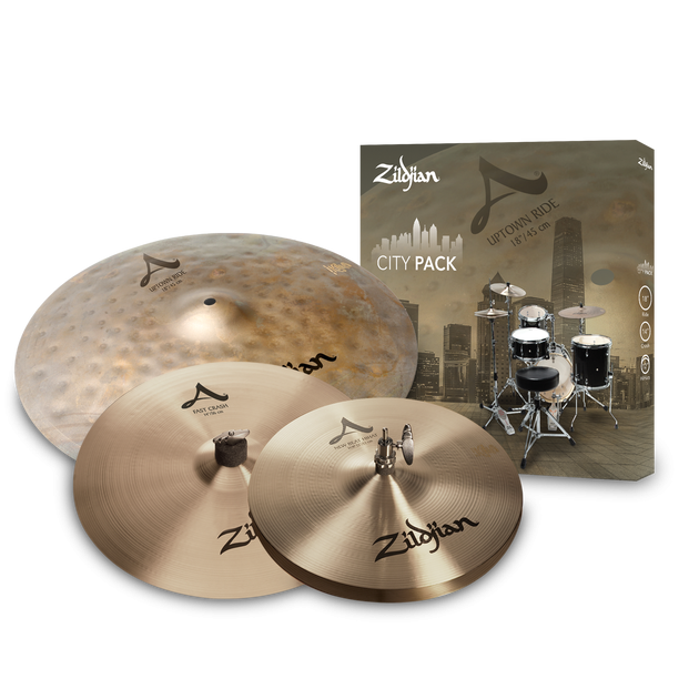 Zildjian A City Cymbal Box Set - ACITYP248
