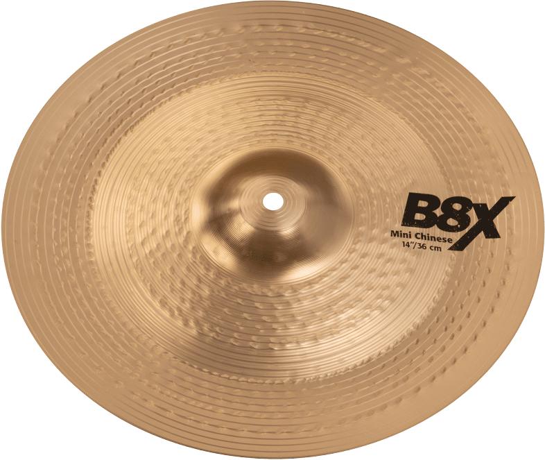 Sabian B8X Chinese Cymbals