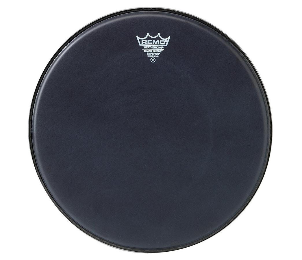 Remo Emperor Black Suede Drum Heads