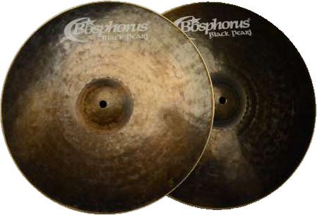 Bosphorus Black Pearl Series Hi-Hats