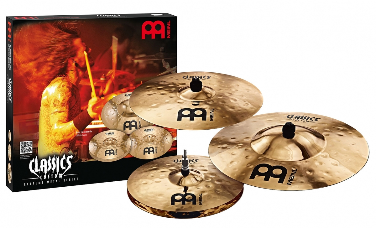 Meinl Extreme Metal Series Cymbal Set