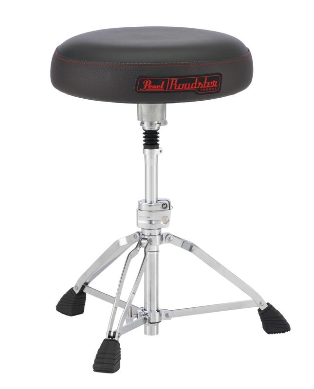 Pearl D1500SP Roadster Multi-Core Donut Drum Throne w/ Shock Absorption