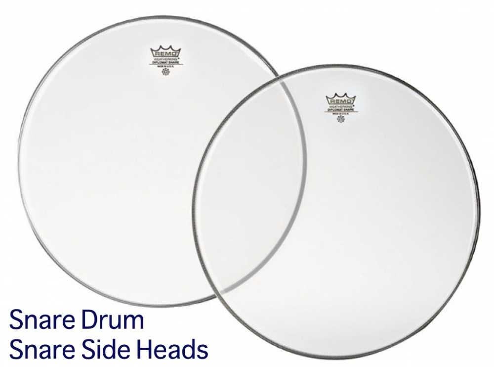 Remo Hazy Diplomat Drum Heads