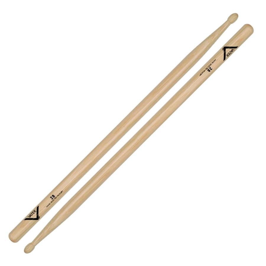 Vater Hickory VH2BW 2B Wood Tip Drum Sticks