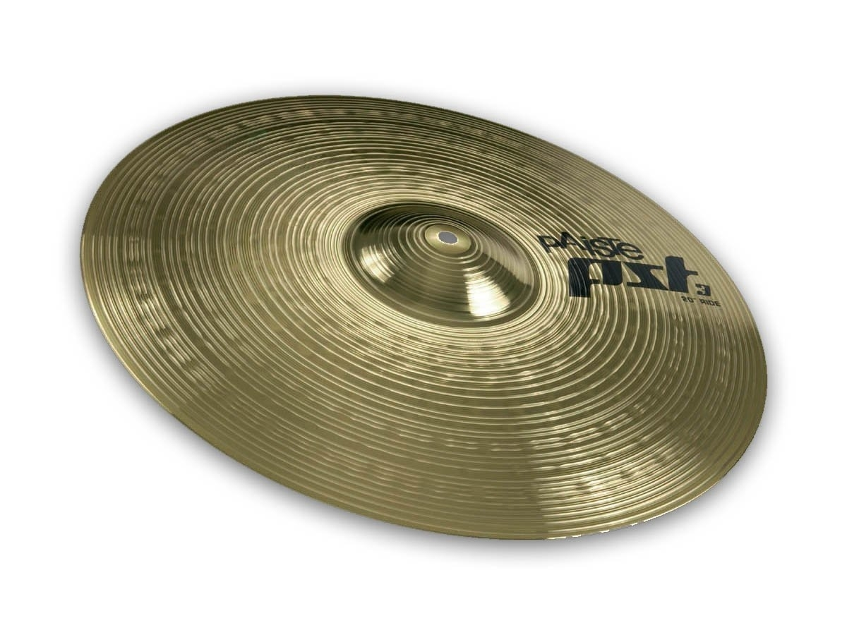 "Paiste PST 3 Ride Cymbals 20"""