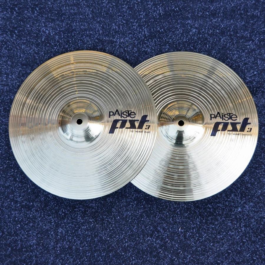 "Paiste 13"" PST3 Hi Hat Cymbals - Shop floor model"
